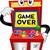 monitor · mascote · ilustração · monitor · de · computador · máquina · desenho · animado - foto stock © lenm