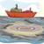 большой · грузовое · судно · стилизованный · морской · транспорт · порт - Сток-фото © lenm