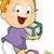 pequeno · bebê · menino · jogar · brinquedos · criança - foto stock © lenm