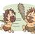 cartoon · jaskiniowiec · klub · strony · człowiek · zabawy - zdjęcia stock © lenm