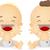babák · ki · felfelé · illusztráció · boldog · férfi - stock fotó © lenm