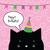 urodziny · karty · cute · kot · charakter · kartkę · z · życzeniami - zdjęcia stock © LeonART