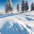 inverno · fantástico · paisagem · blue · sky · Ucrânia · europa - foto stock © Leonidtit