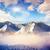 montanha · paisagem · fantástico · inverno · blue · sky · criador - foto stock © Leonidtit