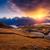 matin · paysage · montagne · lac · Géorgie · principale - photo stock © leonidtit
