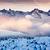 colagem · inverno · paisagem · pôr · do · sol · lago · céu - foto stock © leonidtit