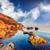 fantasztikus · nap · tenger · jókedv · napsugarak · fölött - stock fotó © leonidtit