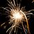 ardente · natal · sparkler · isolado · preto - foto stock © leonidtit