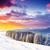 inverno · fantástico · manhã · montanha · paisagem · colorido - foto stock © Leonidtit