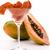 kesmek · etli · turuncu · renkli · meyve · karanlık - stok fotoğraf © leowolfert
