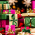 single colored xmas gifts stacked up stock photo © leowolfert