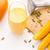 mango · zaden · gesneden · vruchten · houten - stockfoto © leowolfert