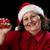 gelukkig · vrouw · presenteren · Rood · kerstmis - stockfoto © leowolfert