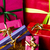 six bows tied around unicolored gift boxes stock photo © leowolfert