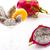 frutas · blanco · mitad · corte · vidrio · decorativo - foto stock © leowolfert