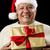 senior · man · aanbieden · geschenk · ernstig · zakenman - stockfoto © leowolfert