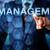 kisajtolás · vezetőség · férfi · érintőképernyő · interfész · női - stock fotó © leowolfert