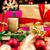 rosso · scatola · regalo · archi · stelle · seta - foto d'archivio © leowolfert