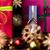 3 ·  · 赤 · クリスマス · 贈り物 · 金 · リボン - ストックフォト © leowolfert