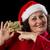 wijzend · gelukkig · oude · vrouw · vrouw · vrouwen · achtergrond - stockfoto © leowolfert