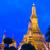 közelkép · részletek · templom · Thaiföld · víz · sziluett - stock fotó © leungchopan