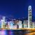 Hong · Kong · noite · edifício · cidade · paisagem · mar - foto stock © leungchopan