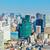 Токио · Cityscape · здании · пейзаж · синий · башни - Сток-фото © leungchopan