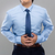 businessman with stomachache stock photo © leungchopan