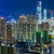 Hong-Kong · surpeuplé · bâtiment · nuit · affaires · ciel - photo stock © leungchopan
