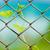 zincir · bağlantı · çit · alan · çim - stok fotoğraf © leungchopan