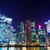 Singapour · parlement · bâtiment · nuit · vue · ciel - photo stock © leungchopan