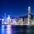 Hong · Kong · gece · gökyüzü · ofis · Bina · seyahat - stok fotoğraf © leungchopan