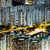 Hong · Kong · Cityscape · gece · ufuk · çizgisi · daire · kamu - stok fotoğraf © leungchopan