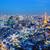 Tóquio · linha · do · horizonte · Japão · negócio · céu · edifício - foto stock © leungchopan