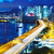 noite · panorâmico · ver · Hong · Kong · negócio · céu - foto stock © leungchopan