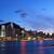 Hong · Kong · horizonte · noche · negocios · cielo · edificio - foto stock © leungchopan