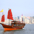 junk boat in hong kong stock photo © leungchopan