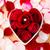 wzrosła · pierścionek · z · brylantem · wewnątrz · kształt · serca · puchar · miłości - zdjęcia stock © leungchopan