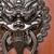 aslan · kapı · dizayn · Metal · mimari - stok fotoğraf © leungchopan