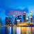 Singapur · noc · działalności · świetle · most - zdjęcia stock © leungchopan