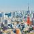 Токио · Cityscape · небе · строительство · синий · городского - Сток-фото © leungchopan