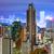 Hongkong · városkép · zsúfolt · épületek · autó · út - stock fotó © leungchopan