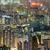 cityscape · Hong · Kong · notte · skyline · appartamento · pubblico - foto d'archivio © leungchopan