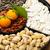 nouvelle · année · casse-croûte · boîte · agrumes · alimentaire · bois - photo stock © leungchopan