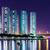 Hong · Kong · Cityscape · gece · gökyüzü · ofis · su - stok fotoğraf © leungchopan