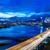 distrito · Hong · Kong · noite · linha · do · horizonte - foto stock © leungchopan