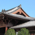 Çin · tapınak · çatı · mavi · gökyüzü · bulutlar · Bina - stok fotoğraf © leungchopan