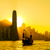silhouette of hong kong city stock photo © leungchopan