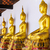 dourado · buda · estátua · templo · ouro · religioso - foto stock © leungchopan