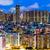 zsúfolt · belváros · épület · Hongkong · város · zöld - stock fotó © leungchopan